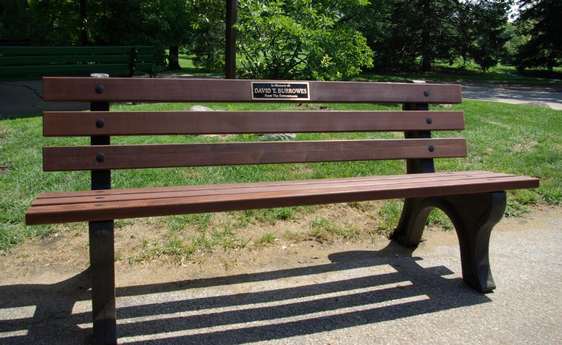 Wooden Park Benches ~ Benches national golf graphics