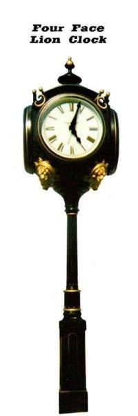 clock-4-sided-lion