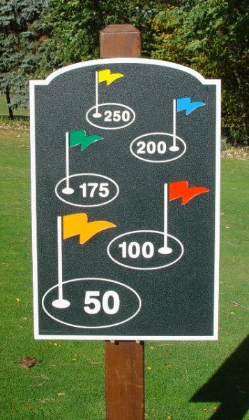 Hdpe National Golf Graphics