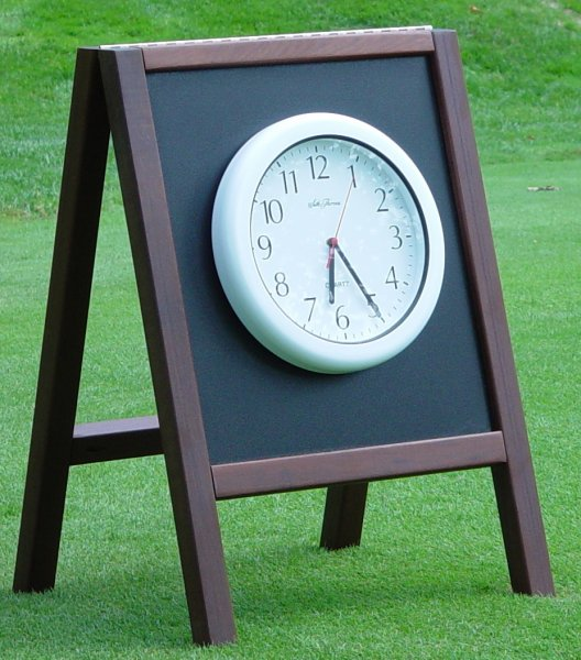 hdpe-and-wood-a-frame-clock