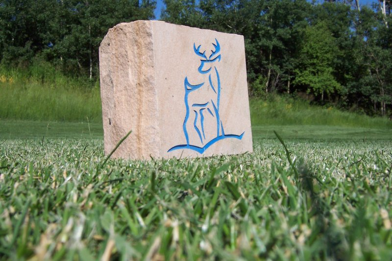 Natural Stone National Golf Graphics