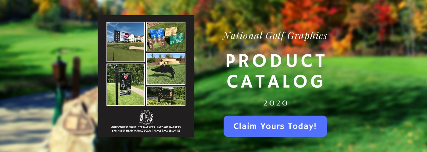 Image of Nationl Golf Graphics Product Catalog 2019